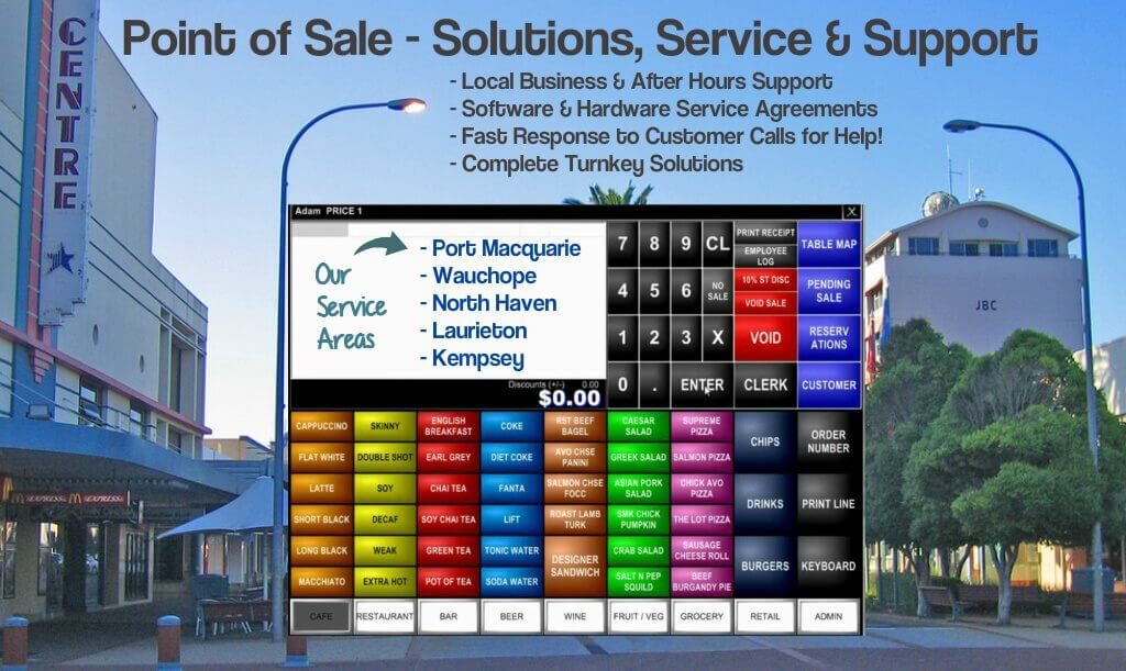 AdvantagePOS - based in Port Macquarie NSW - Point of Sale Solutions, Service & Support